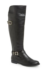 Women's Bella Vita 'Romy' Over The Knee Boot Black Faux Leather