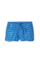 Marc By Marc Jacobs Electric Ikat Swim Trunks Mazarine Blue Multi