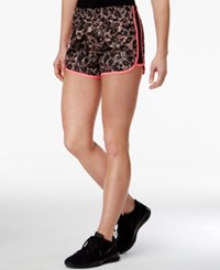 Material Girl Active Juniors' Printed Shorts Only At Macy's Exploded Leopard