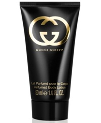 Receive A Complimentary Gucci Guilty Body Lotion With Any 99 Purchase From The Gucci Guilty Fragrance Collection
