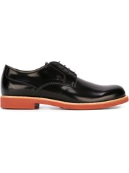 Tod's Rubber Sole Derby Shoes Grey