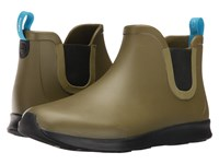 Native Apollo Rain Rookie Green Jiffy Black Jiffy Rubber Rain Boots Yellow