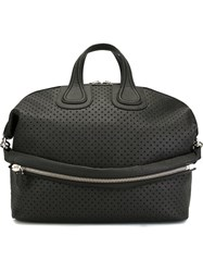 Givenchy Perforated Holdall Black