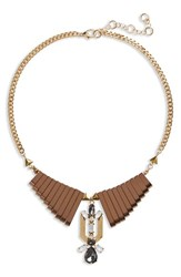Leith Junior Women's Bp. Metal Bar Collar Necklace