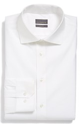 Calibrate Men's Big And Tall Trim Fit Dress Shirt White