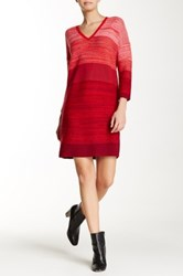 Lilla P Sweater Dress Red