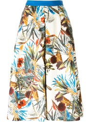 I'm Isola Marras Tropical Print Culottes Multicolour