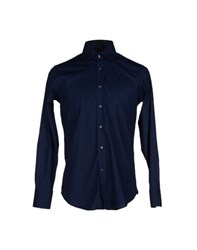 Bagutta Shirts Shirts Men Dark Blue