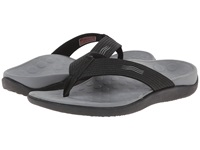 Vionic With Orthaheel Technology Wave Sandal Black Shoes