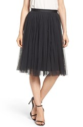 Needle And Thread Women's Tulle Skirt Washed Black