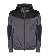 Hugo Boss Green Jaronno Herringbone Jacket Male Dark Grey