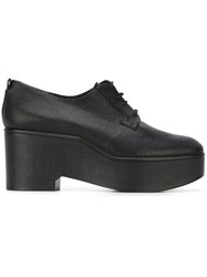 Robert Clergerie 'Xonca' Platform Shoes Black
