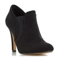 Head Over Heels Octava Lace Up Ankle Boots Black