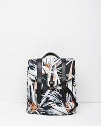 Proenza Schouler Ps1 Nylon Backpack Black White