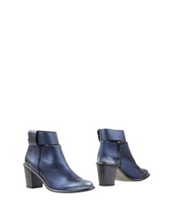 Miista Ankle Boots Dark Blue
