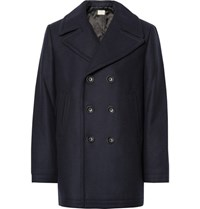 Club Monaco Virgin Wool Blend Peacoat Navy