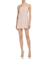 Amanda Uprichard Ruthie Slip Dress Dusty Rose