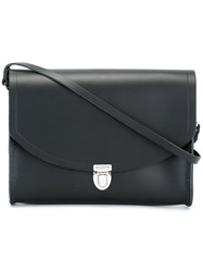 The Cambridge Satchel Company 'The Push Lock' Large Bag Black