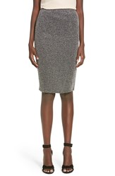 Leith Herringbone Pencil Skirt Black Mens Herringbone