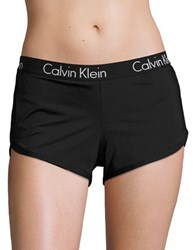 Calvin Klein Logo Band Board Shorts Black