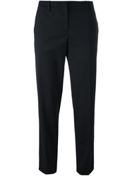 N 21 No21 Tailored Cropped Trousers Black