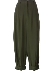 I'm Isola Marras Isola Marras Bell Shaped Trousers Green
