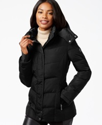 Calvin Klein Fleece Lined Quilted Active Coat Black
