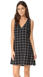 Zac Posen Sami Dress Black White