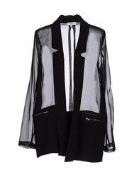 Suncoo Suits And Jackets Blazers Women Black