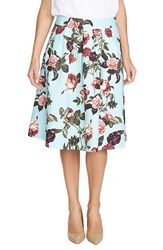 Women's Cece By Cynthia Steffe 'Bouquet Estate' Floral Print Full Skirt