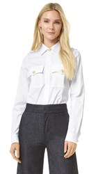 Dsquared Sergent Shirt White