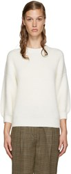 3.1 Phillip Lim Off White Crewneck Sweater