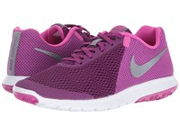 Nike Flex Experience Rn 5 Bright Grape Metallic Cool Grey Fire Pink White Women's Running Shoes