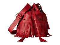 Sts Ranchwear The Free Spirit Bucket Bag Red Handbags