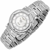 Raymond Weil Parsifal Ladies' Diamond River And Mother Of Pearl Date Watch Silver