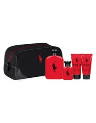Ralph Lauren Polo Red Travel Kit Set 153.00 Value No Color