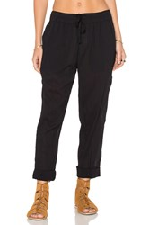 James Perse Pull On Beach Pant Black