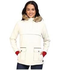 Dale Of Norway Fjellanorakk Jacket Off White White Softshell Women's Coat