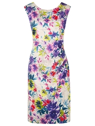 Kaliko Floral Shift Dress Multi