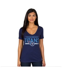 Authentic Nfl Apparel Women's Tennessee Titans End Zone T Shirt