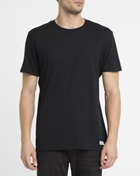 Element Black Crew Round Neck T Shirt