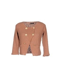 Soallure Cardigans Light Brown