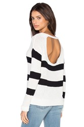 Feel The Piece Kenzie Pullover Black And White