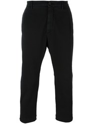 Pence Cropped Trousers Black