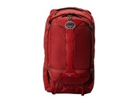 Osprey Wayfarer 70 Garnet Red Backpack Bags Brown