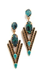 Elizabeth Cole Jennifer Earrings Jade