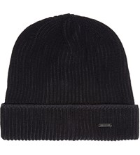 Hugo Boss Benzo Wool Beanie Black