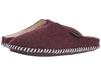 Woolrich Classic Felt Mill Scuff Port Women's Slippers Burgundy