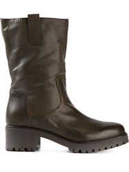 P.A.R.O.S.H. 'Happy' Boots Green