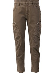 Dorothee Schumacher Cropped Trousers Green